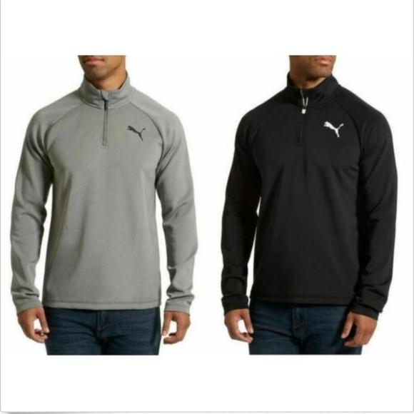 Puma Other - Puma Men's Essential Active ¼ Zip Active Runner Pu